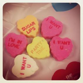 vday hearts