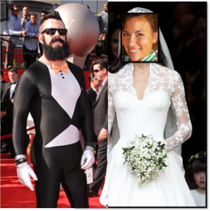 me and brians wedding