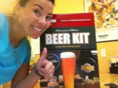 Oh yeah baby remember when I brewed my own beer for a few years? the days!