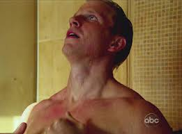 I'm not sure shower scenes are necessary, but....if we must!