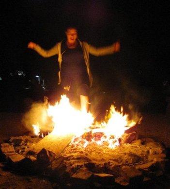 me in fire