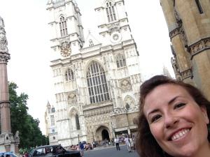Abbey selfie!