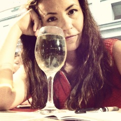 wine, journal, pizza, what more doth thou require?