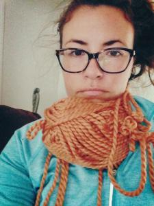 update: knitting is for morons.