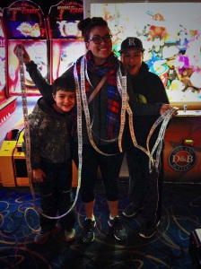 that one night i legit won 1,000 tickets at Dave and Busters!