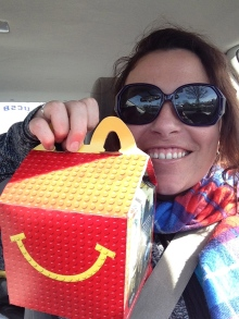 All road trips, fueled by Happy Meals. I'm just waiting for an endorsement deal from chicken nuggets.