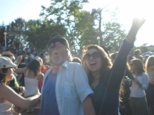 Me and the Pirate, Earth Day 2006.