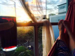 barra hammock wine