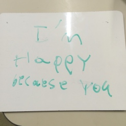 aw. thanks tiny student.
