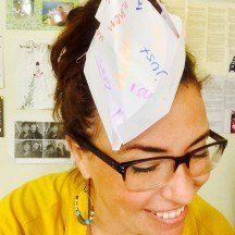 things start to get crazy around here...i lost a bet to a student about sight words and so i had to make a sight word hat and wear it all day. he also got to throw sight word airplanes at me. it was kind of awesome.