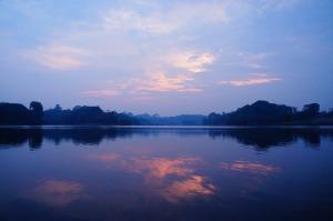 sunrise over the amazon