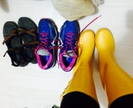 "rainboots...or ""galoshes"" as my south africans probably call them. adorable."