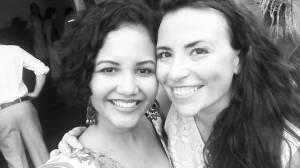 with Larissa at the wedding!!! <3