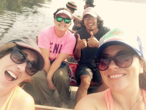 another day, another boat ride, another groupie (is that the plural of selfie? I dont know)