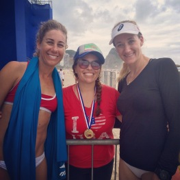 april ross kerri walsh me gold medal