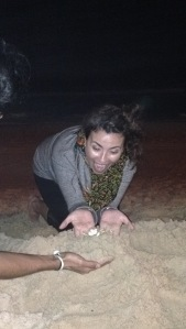 also look i held a crab and it might have possessed me for a moment because i look crazy in this pic.