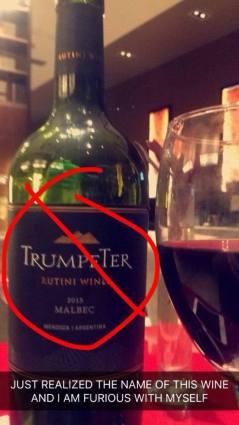 accidentally drank this wine!