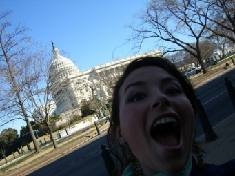 10 years ago, protesting cuts to higher education and lobbying senators and generally screaming and giggling about everything. 22 me was very excitable but it's all different now.
